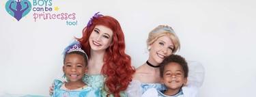 Los niños también pueden ser princesas y jugar a lo que quieran: así lo demuestran estas fotos