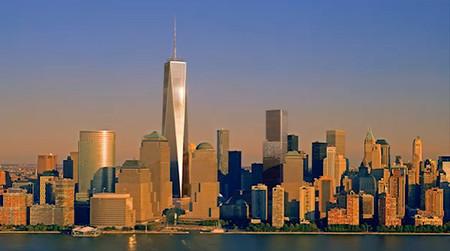 One World Trade Center, un timelapse desde el cielo de Nueva York