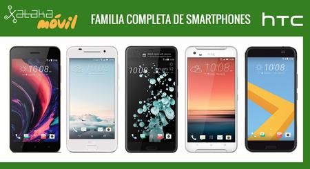 HTC U Ultra y U Play, así encajan dentro del catálogo completo de móviles HTC