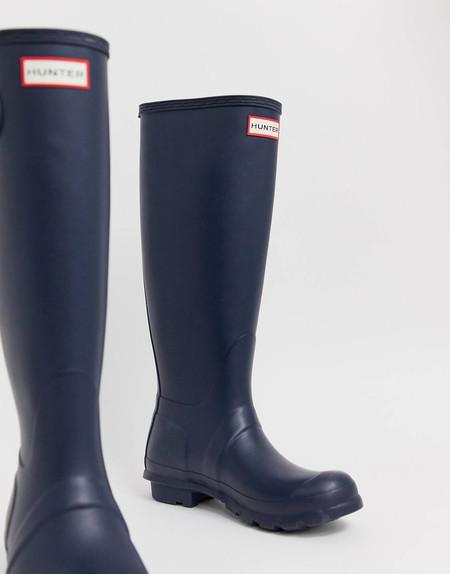 Estas botas de agua Hunter tan prácticas están en oferta por 105,99 euros con las rebajas de ASOS