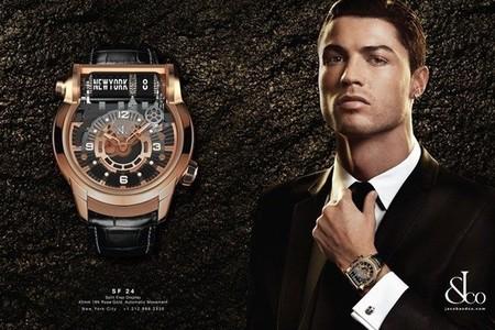 Cristiano Ronaldo nueva imagen de Jacob & Co