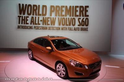 Volvo S60, tecnología para evitar atropellos