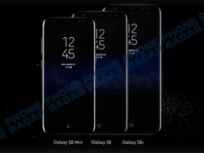 Pantalla de 5.3 pulgadas e igual de poderoso, así sería el Galaxy S8 Mini [Actualizado]