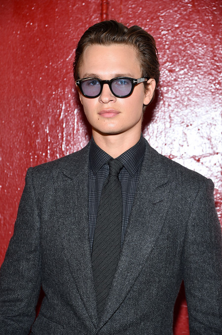 Ansel Elgort Runway Tom Ford New York Fashion Week 02