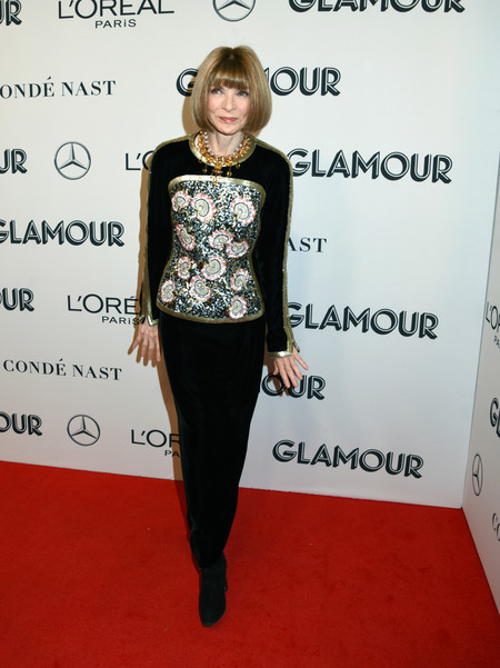 Anna Wintour red carpet glamour women