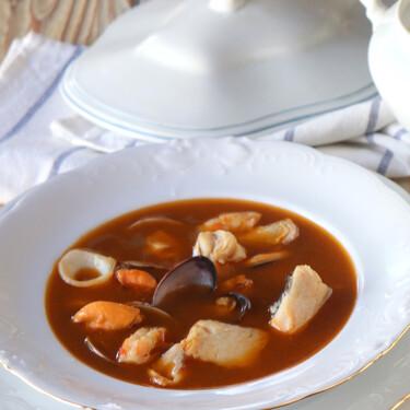 Marmita de pescador, la receta del reconfortante plato de cuchara del invierno