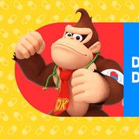 Donkey Kong y Diddy Kong dejan su jungla para ponerse el estetoscopio en Dr. Mario World
