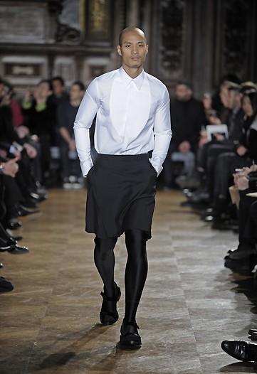 Givenchy, Otoño-Invierno 2010/2011 en la Semana de la Moda de Milán2