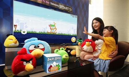 'Angry Birds', los pájaros de Rovio, llegan a las Smart TV de Samsung con su propia aplicación