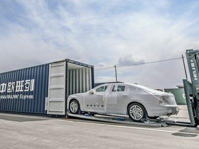 Volvo resucita 'La Ruta de la Seda' siendo la primera marca en exportar de China a Europa vía tren