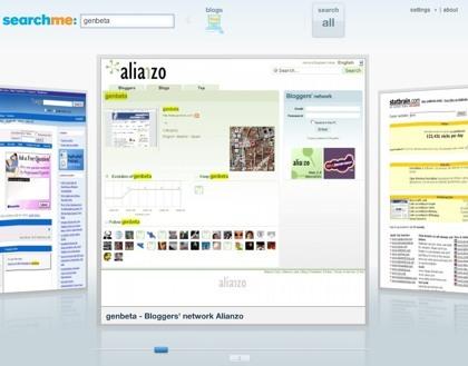 Hazte con una cuenta de betatester para Searchme