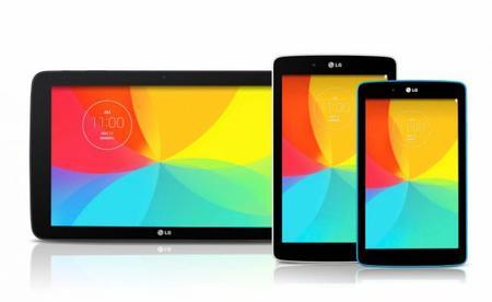 LG anuncia tres nuevas tablets G Pad de 7, 8 y 10.1 pulgadas