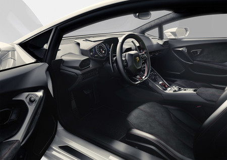 Lamborghini Huracán LP 610-4 - interior