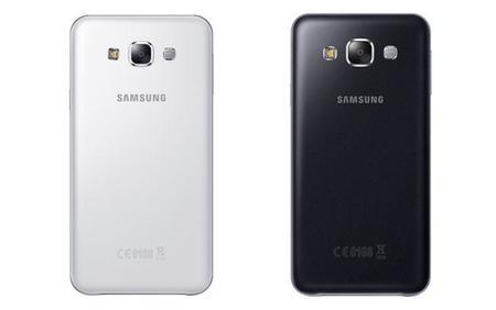 Galaxy E5 y Galaxy E7 Back