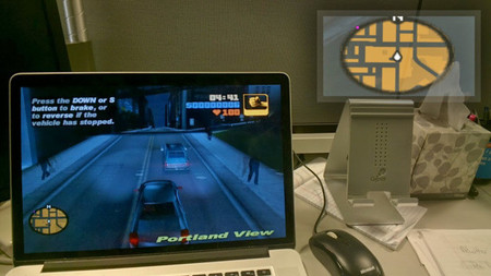 Google Glass como segunda pantalla: El GPS de Grand Theft Auto directamente a tus ojos