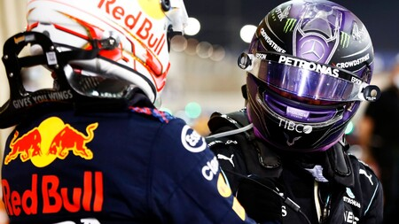 Hamilton Verstappen Barein F1 2021 2