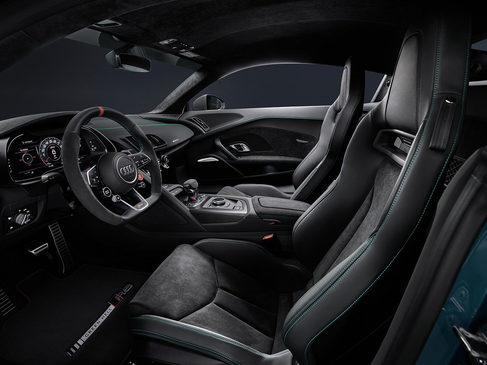 Foto de Audi R8 Green Hell (22/25)