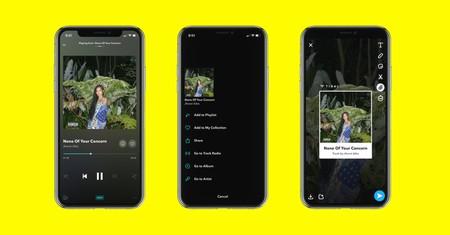 Tidal anuncia la integración con Snapchat: ahora es posible compartir el contenido en forma de audio o vídeo