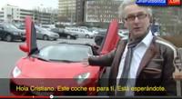 Este hombre quería regalarle el Lamborghini a Cristiano Ronaldo