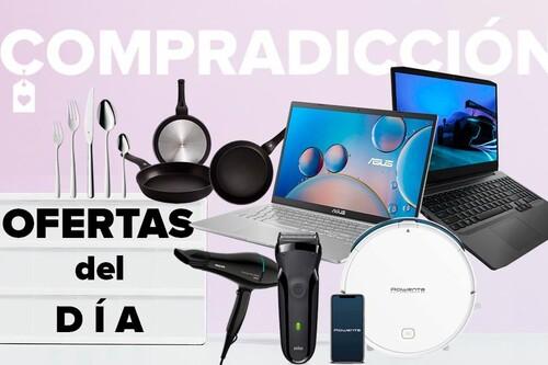 19 ofertas del día en Amazon: portátiles ASUS y Lenovo, herramientas Bosch, menaje Bra y WMF, cuidado personal Braun y Philips o herramientas Bosch a precios rebajados