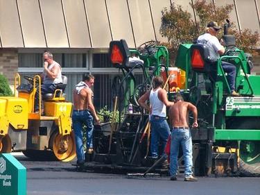 Cuidados cosméticos para los trabajadores de la construcción