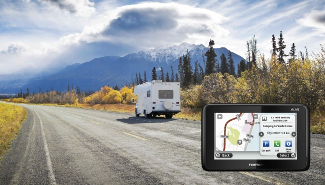 el tomtom go live camper caravan te gu a directo al camping que quieras. Black Bedroom Furniture Sets. Home Design Ideas