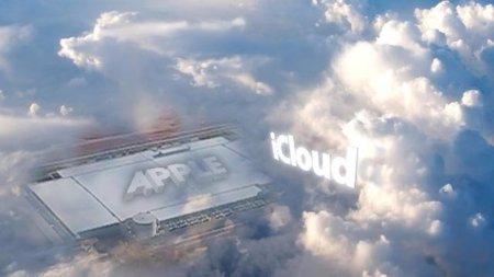 Apple en la tierra, icloud en la nube