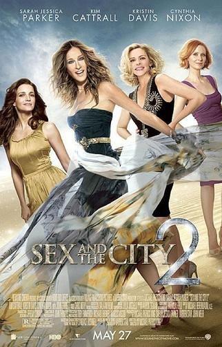 Nuevo póster de Sexo en Nueva York 2: Carrie, Charlotte, Samantha y Miranda juntas y con cóctel a su nombre...