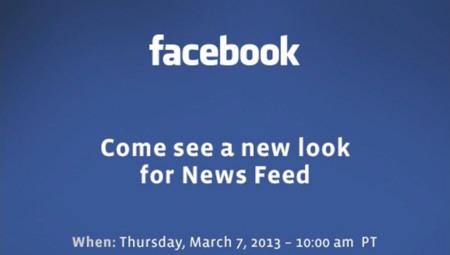 Se avecina rediseño del News Feed de Facebook