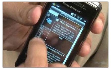 Sony Ericsson Xperia X1, desarrollo de paneles y vídeo de su funcionamiento