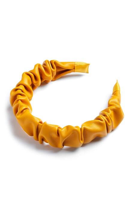 Primark 3190001 Orange Rouched Headband 2 3 4 Pln13