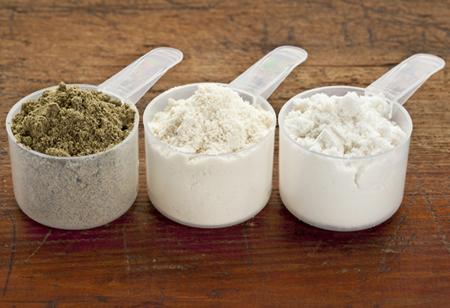 ¿Qué proteina en polvo consumir?