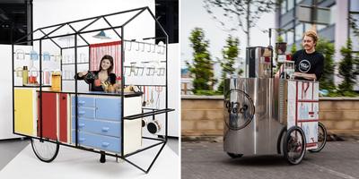 El remolque cocina o el triciclo cafetera, ¿con cuál te quedas?