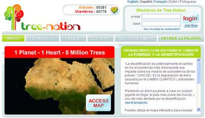 Tree Nation, planta tu árbol