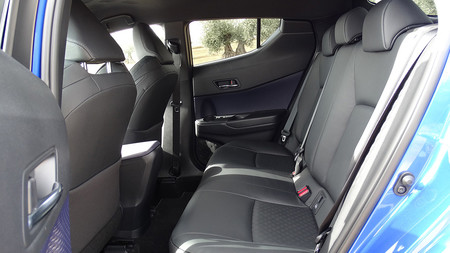 Prueba Toyota C Hr Interiores