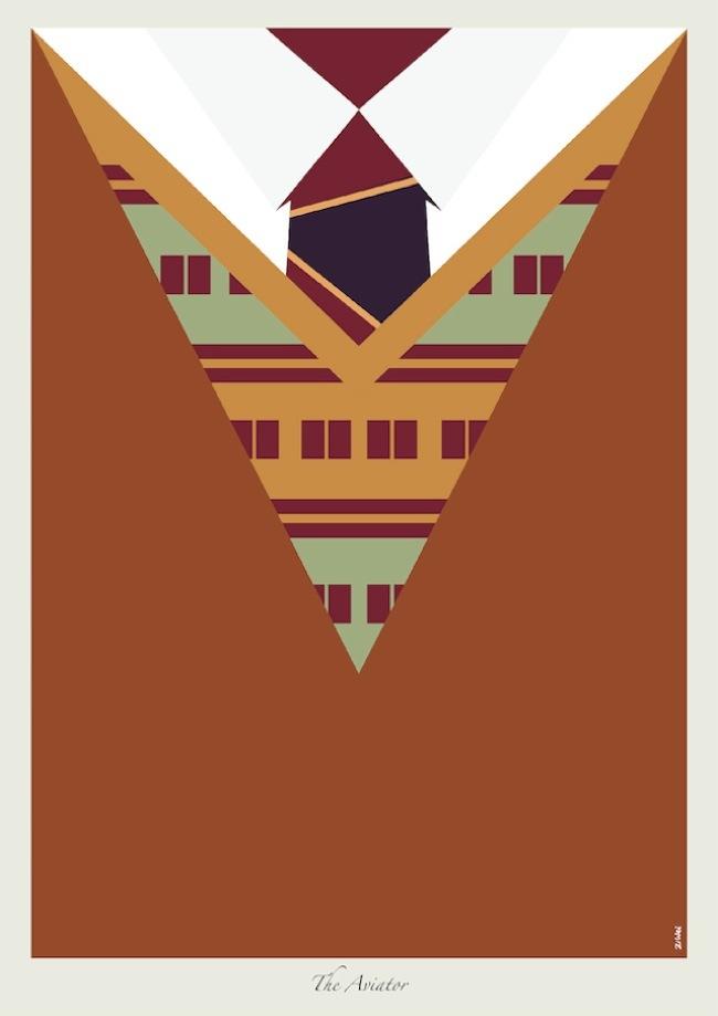 Foto de Las corbatas de Dicaprio en ilustraciones (9/9)