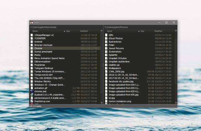 Fman es un explorador de archivos extensible y multiplataforma, ideal para power users
