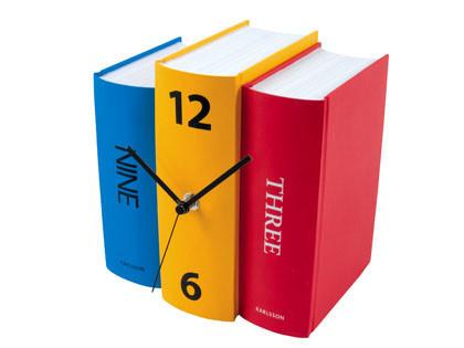 Un reloj-libro