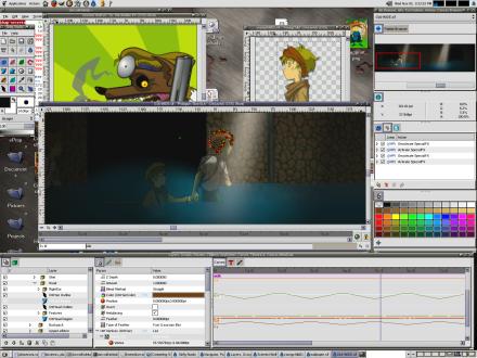 Synfig, creación de animaciones vectoriales
