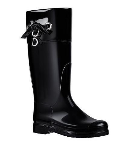 Botas agua Dior negras