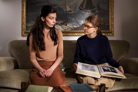 Gaia Girace y Margherita Mazzucco