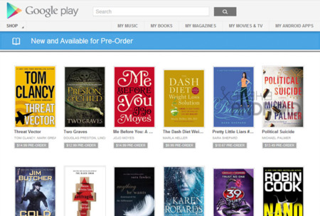 Reservar un libro en Google Play