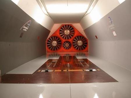 El primer túnel de viento en España a escala real está en marcha