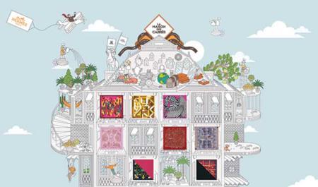 La Maison des Carrés de Hermès on-line