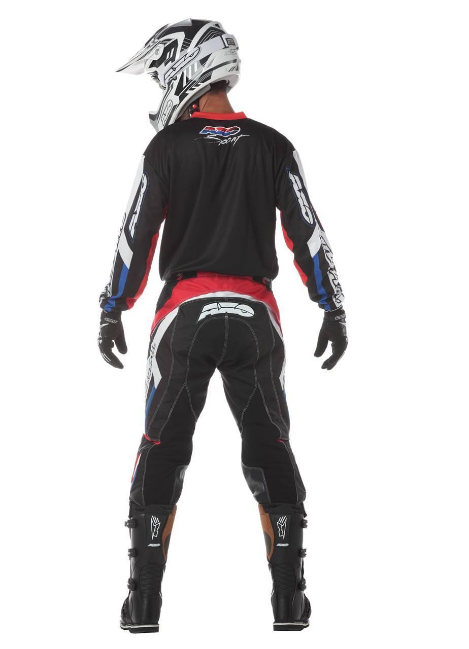 Foto de AXO Trans Am, estilo retro para la equipación de motocross (10/15)