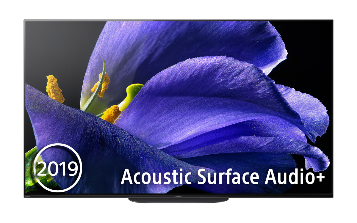 "TV OLED 139,7 cm (55"") Sony KD-55AG9 4K HDR X1 Ultimate, Android TV, Triluminos Display, Acoustic Surface Audio+ y Google Assistant"