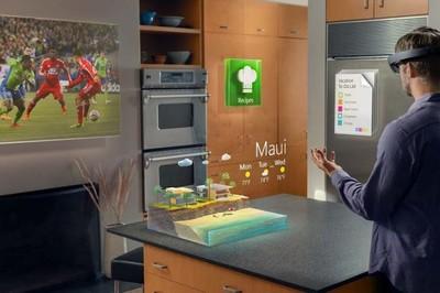 Project HoloLens es la herramienta que dará forma al hogar del futuro