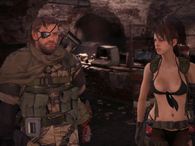 Los personajes de Metal Gear Solid V se pasean por el Yermo de Fallout 4 con este curioso mod
