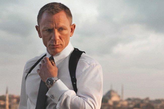 Daniel Craig en una escena de Skyfall