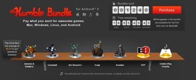 Segundo Humble Bundle Android, Cogs, Swords & Soldiers, Avadon, Zen Bound 2 y el estreno de Canabalt por el precio que quieras